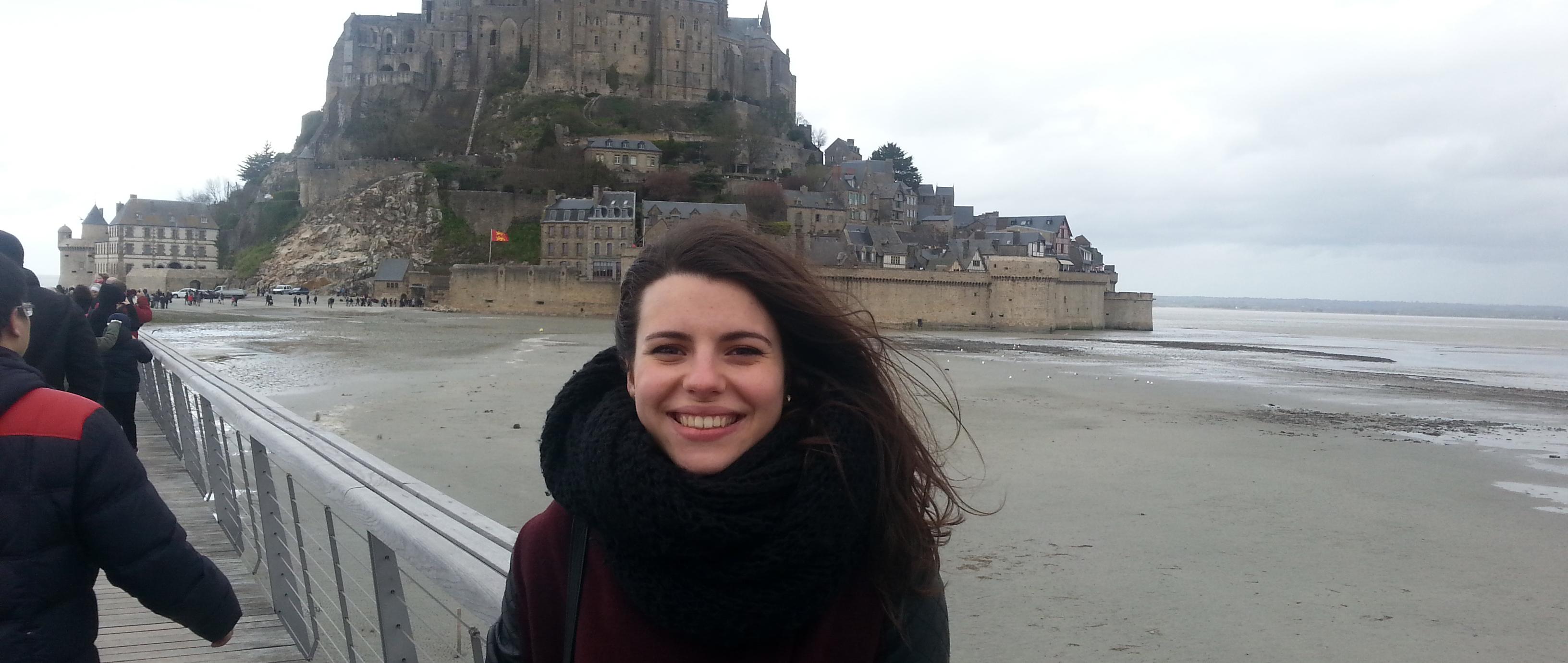 Studentă în Franța – Anda Anica